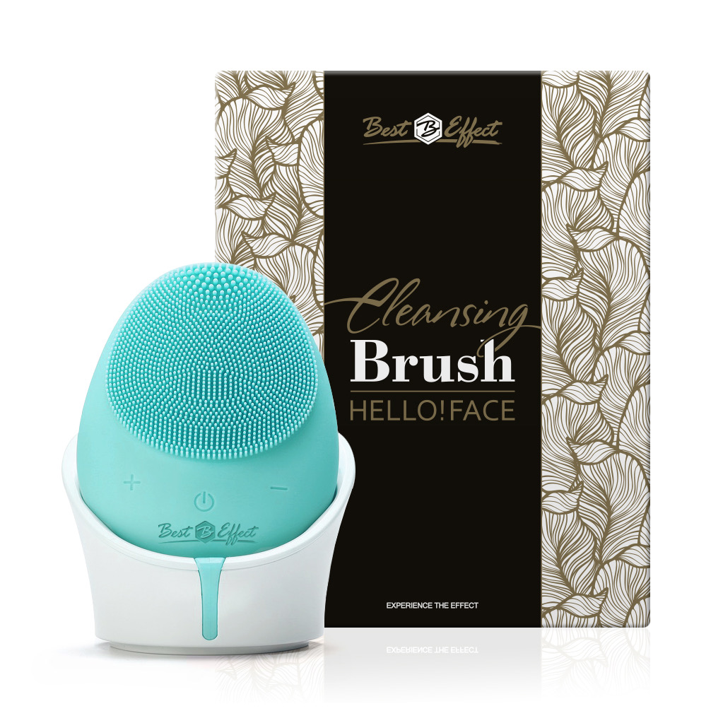 Hello!Face Cleansing Brush - Türkis