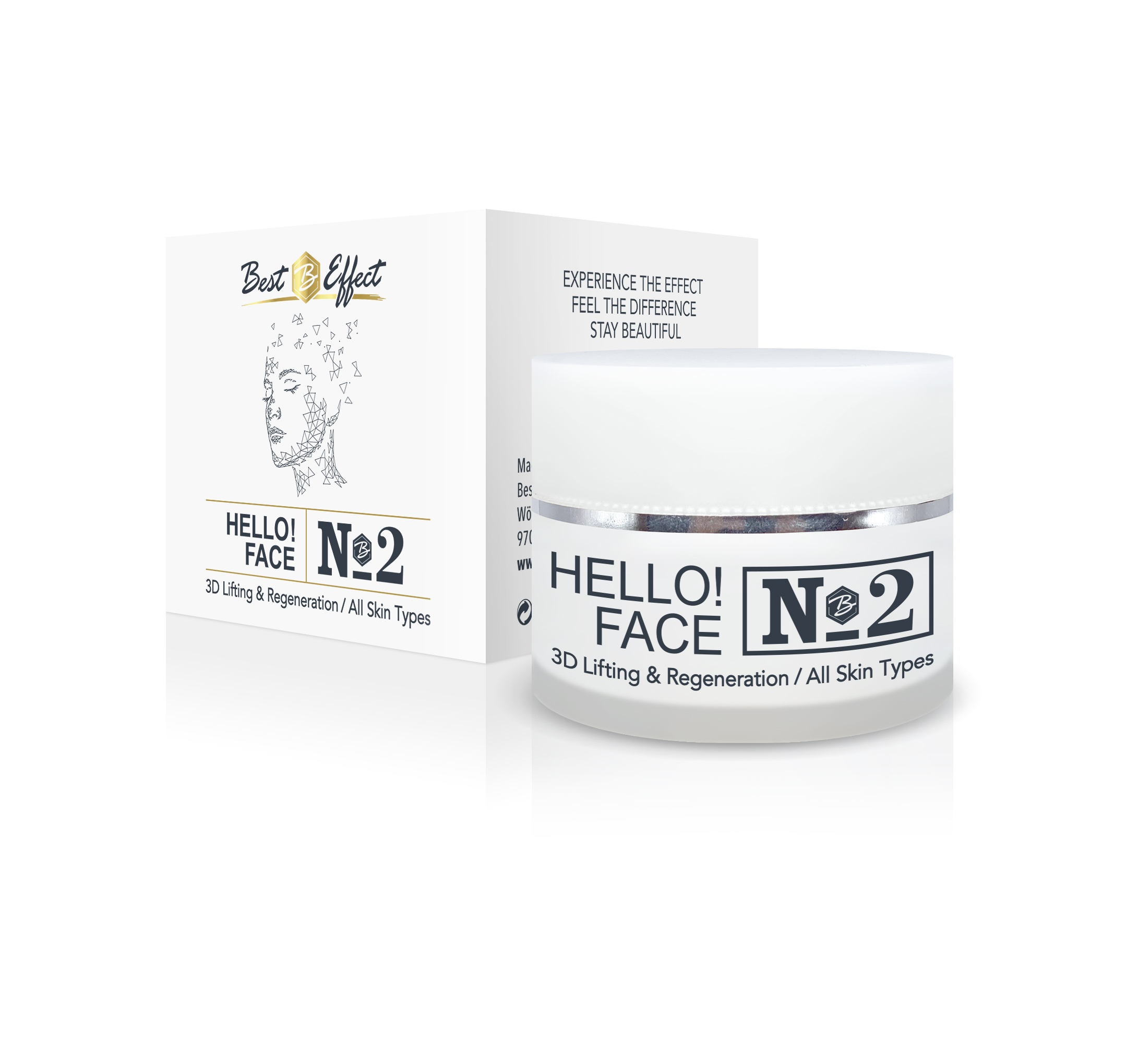 Hello!Face N2 3D Lifting & Regeneration / All Skin Types